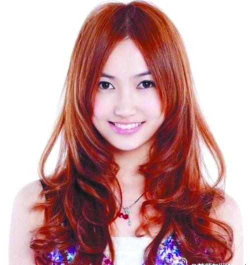红色挑染酒小姐头发:大全挑染酒男生古代图片男生发型图片