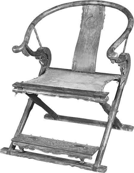 交椅简单手绘图