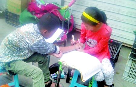 六一儿童节的到来,近日_乐乐简笔画