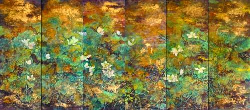 大者之美——王迦南蔡小丽伉俪画展 - 明藏菩萨 - 上塔山房de博客