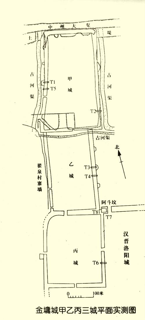 西汉代合葬墓椁结构图