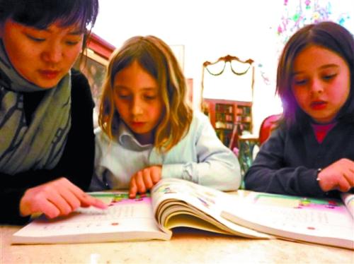 对外汉语教师缺口500万教老外学汉语正当时