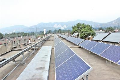 屋顶分布式光伏电站_光伏电站监控系统图片