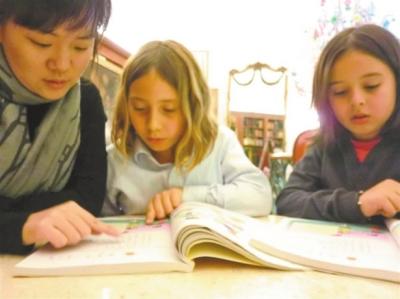 对外汉语教师缺口 500万教老外学汉语正当时