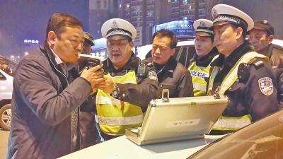 河南交警部门开展今年首次异地用警集中行动