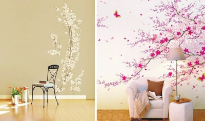 手绘墙面,让您的家与众不同