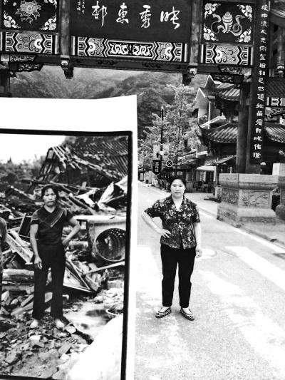 汶川地震七周年:生活还在继续回忆从未抹去