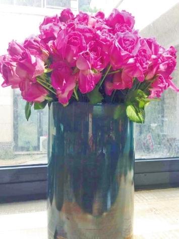 生活,需要一束花