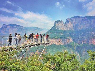 新乡南太行旅游度假区包括:万仙山(郭亮),八里沟,回龙·天界山