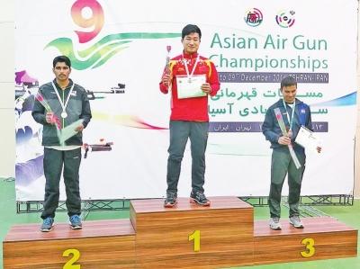 河南洛阳小伙_亚洲射击锦标赛10米手项目洛阳小伙获个人冠军-河南