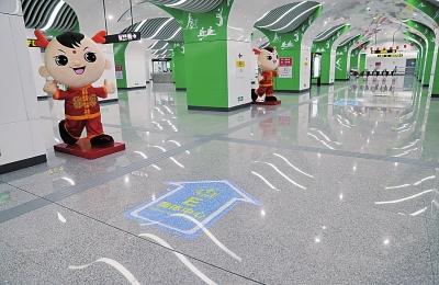郑州地铁14号线一期即将开通 全长7公里多有6个站