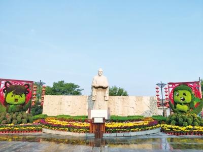 名菊斗艳,金菊飘香!中国开封第八届国际菊花展开幕