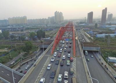 郑州北三环彩虹桥下周六起封闭
