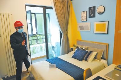 實地探訪鄭州青年人才公寓,戶型朝南、配備陽臺、一戶一車位