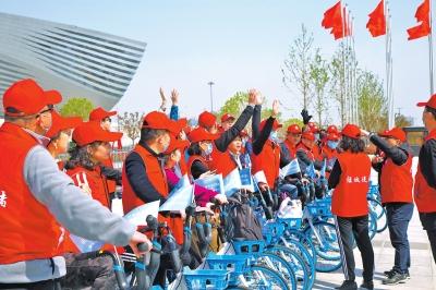 唐河县泗洲第二幼儿园开展世界读书日活动