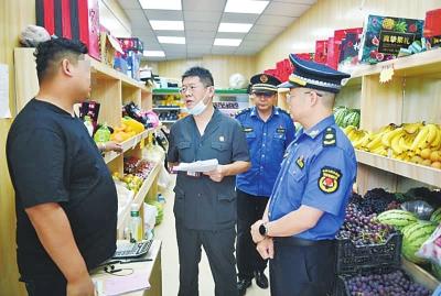 郑州一水果店因突店经营被立案处罚24次 法院强制执行了!