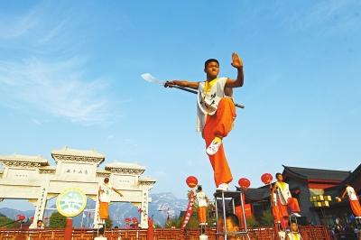 河南承载4000年武术文化成果