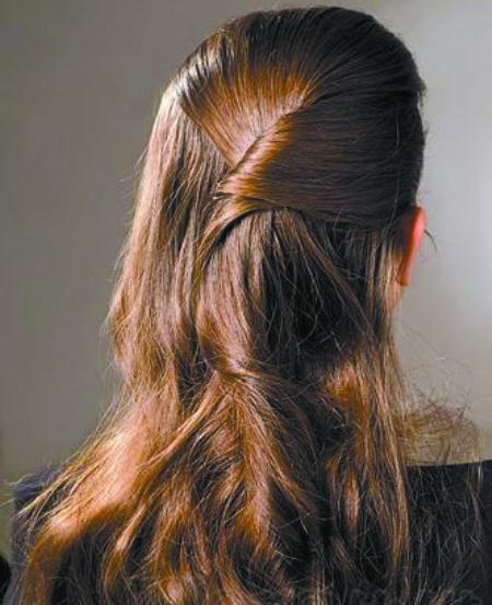 水晶头发步骤图解