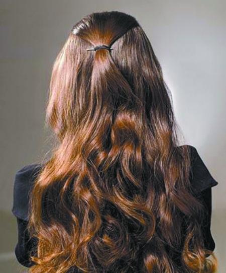 盘发编头发花样步骤图片