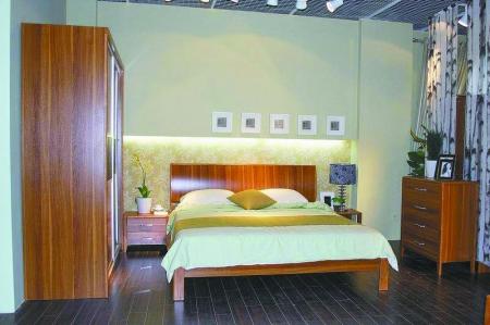 卧室装修木桶床