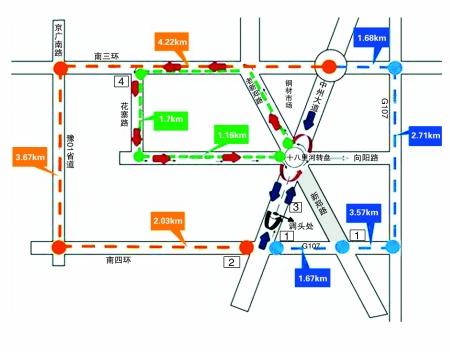 郑州市将有东南四环连接线工程 高清图片