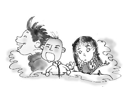 佛山手绘墙画 朱涛