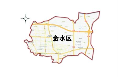郑州市区金水区地图_郑州联勤保障部队在哪条路