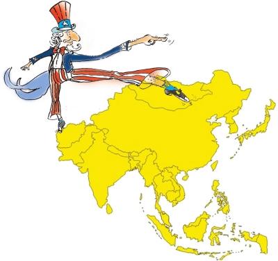 手画中国地图步骤