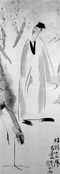 林风眠《梅妻鹤子图》将现身拍场