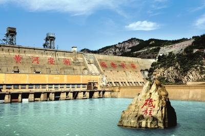 三门峡大坝·中流砥柱