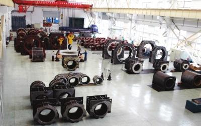 南阳防爆集团重型电机生产现场