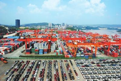 我国对外贸易商品结构