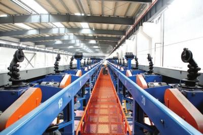 河南巨力钢丝绳制造有限公司生产车间