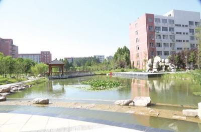 安阳师范学院校园水系