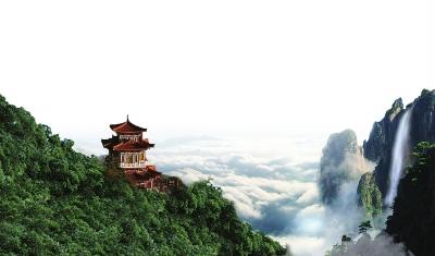 本报记者张莉娜     走进嵩县旅游景区,高山流水,森林氧吧,木屋