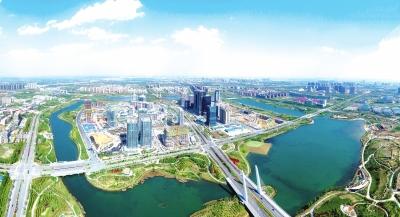 龙子湖智慧岛正在形成新的大数据产业高地