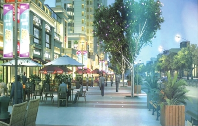 五龙新城社区商铺迎来发展新契机