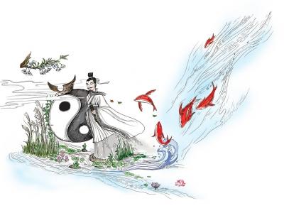苏河十八景 手绘地图