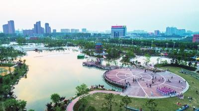 融休闲观光旅游,生态农业采摘等为一体的漯河东部自然风景植物园.