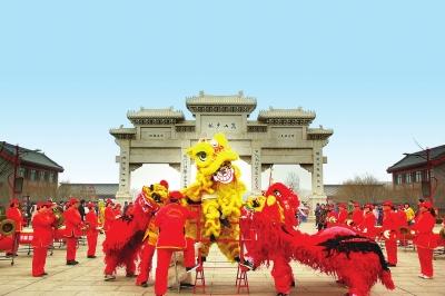 双鹤湖中央公园第二届中原文化节暨2019己亥猪年春节庙会