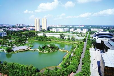 南阳理工学院校园风景