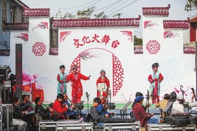 乡村文化丰富村民的文化生活