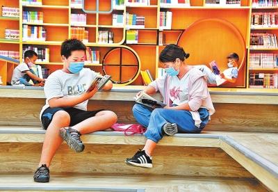洛陽市少年兒童圖書館兒童樂園浸潤書香