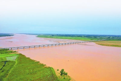 黄河出现2020年第5号洪水
