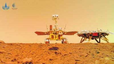 我国首次火星探测圆满成功