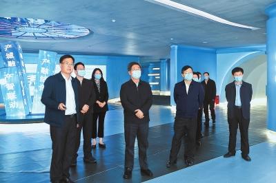 楼阳生到郑州市中原科技城调研时强调 加强顶层设计 做好系统谋划 在建设国家创新高地中起高峰