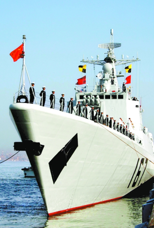 中国海军舰艇首访日本