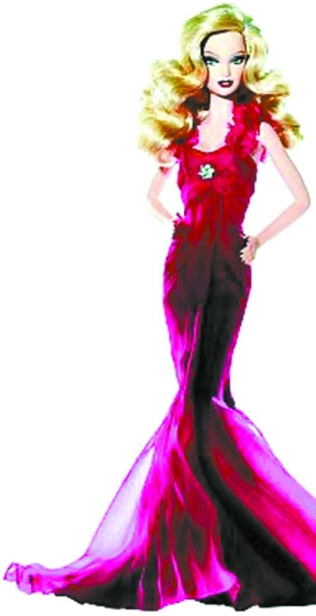 """服装设计师为这位""""时尚女神""""特地举办了专场时装秀"""