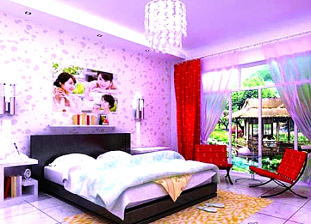 卧室顶灯双控电路图