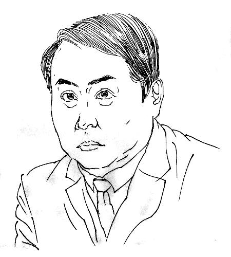 素描郑州市玉米塔的图片